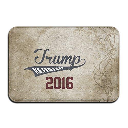 JFD Funny Donald Trump For President 2016 Non-Skid Home Mat 60x40cm