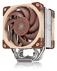 Noctua NH-U12A, Premium 120mm CPU Cooler with High-Performance Quiet NF-A12x25 PWM Fans (Brown)