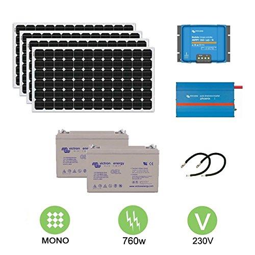 Kit fotovoltaico de 760 W a 230 V