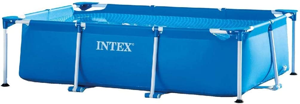 Intex 8 5 X 5 3 X 2 13 Rectangular Frame Above Ground Backyard Swimming Pool Garden Outdoor