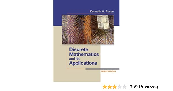 Discrete mathematics and its applications 7 kenneth rosen amazon fandeluxe Choice Image