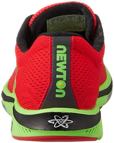 Newton Mens Gravity Running Red 7 Lime 0PPfW