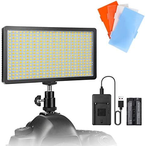 Panel de luz de video regulable Enegon (416