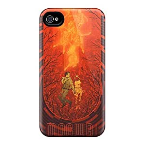 Scratch Resistant Hard Cell-phone Case For Iphone 4/4s (Oqe15826gySY) Provide Private Custom Beautiful Nirvana Skin