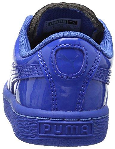 Puma Basket Classic Patent Synthetik Turnschuhe Puma Royal/Puma Roya