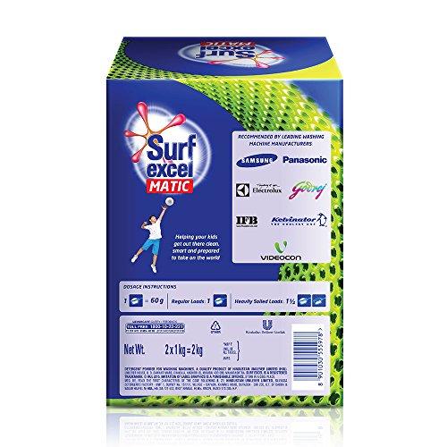 Surf Excel Matic Top Load Detergent Powder - 2 kg