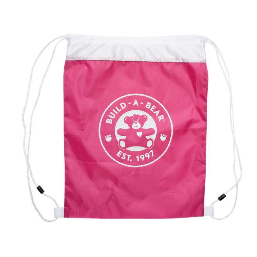 Build-a-Bearアクセサリー巾着バッグ。 ピンク NA B07GPN7CKC ピンク