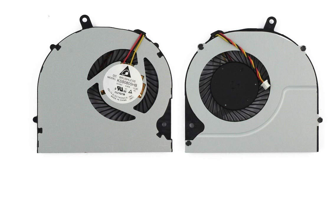 New Laptop CPU Cooling Fan for Toshiba Satellite S55t-A5132 S55t-A5136 S55t-A5138 S55t-A5156 S55t-A5161 S55t-A5189 S55t-A5237 S55t-A5238 S55t-A5258NR S55t-A5277 S55t-A5331 S55t-A5334 S55t-A5337