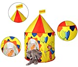 PIGLOO Circus Pop Up Play Tent House for Kids Ages 3+ Years, 100x135cm, 1 Piece