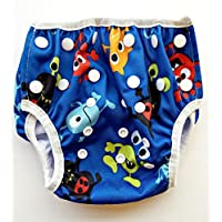 Swim Diaper - Reusable and Adjustable for Babies 0 to 12 months and Toddlers ...