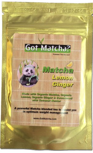 Got Matcha, Matcha Lemon Ginger, 150 grams