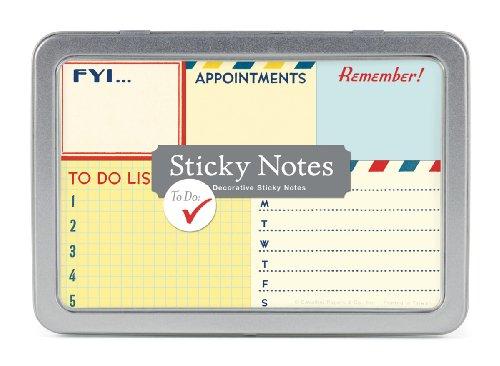 - Cavallini Sticky Notes to Do