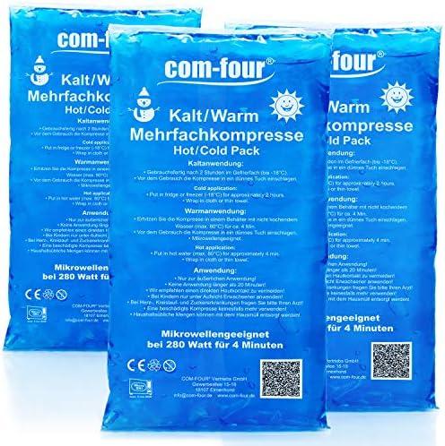 com-four® 3X compresas múltiples - compresas de Gel para ...