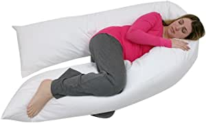 Web Linens Inc Junior Size - Total Body Pregnancy Maternity Pillow- Full Support - Exclusively by Blowout Bedding RN# 142035