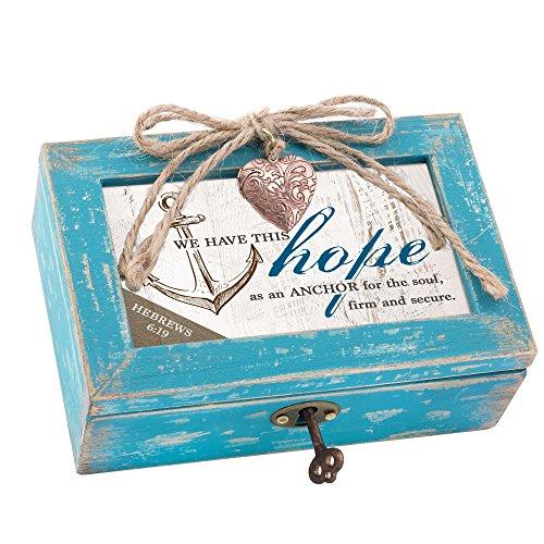 Best Cottage Garden Friends Bibles - Cottage Garden Hope Anchor Soul Grey