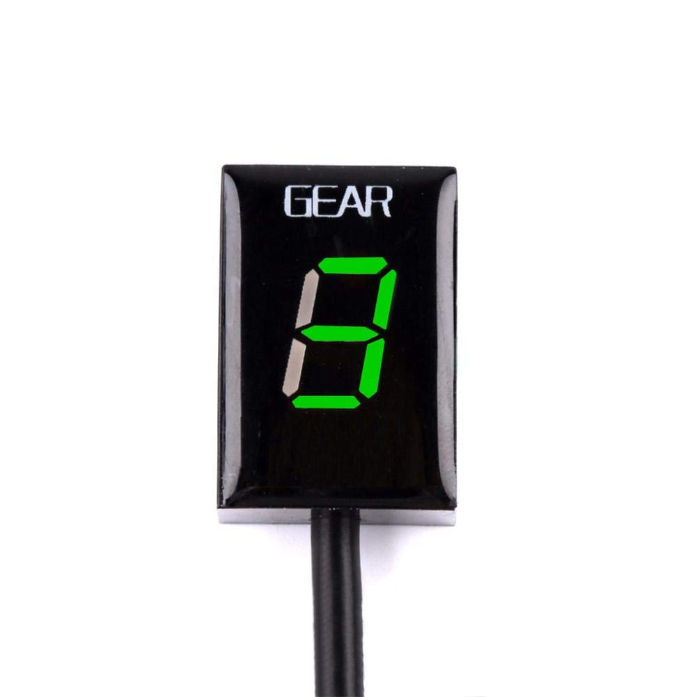 CampHiking Indicatore del Display Digitale del Cambio velocit/à del Motore Spina della ECU del Livello del LED della Motocicletta della Serie Honda