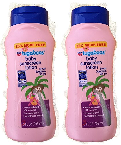 rite-aid-tugaboos-baby-sunscreen-lotion-spf-50-water-resistant-hypoallergenic-pack-of-2
