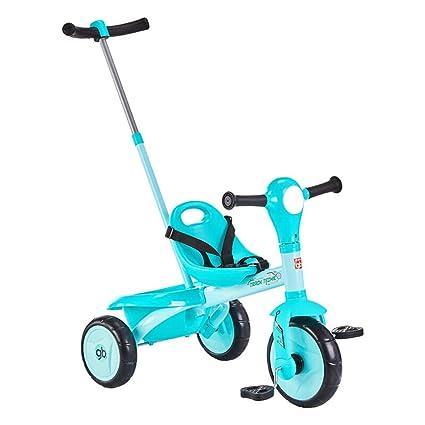 Triciclo de niños Trolley 1-2-3-4 años Carro de bebé Bebé ...