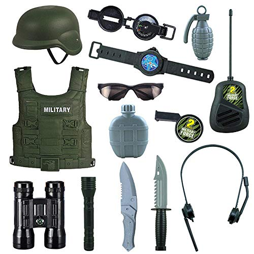 Soldier Costume For Boys,Kids SWAT Costume,Police Clothing