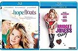 Bridget Jones's Diary + Hope Floats - Fun & Romance Movies Blu Ray Bindle Set Double Love Twice as Much