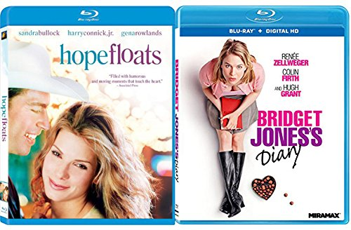 Bridget Jones's Diary + Hope Floats - Fun & Romance Movies Blu Ray Bindle Set Double Love Twice as Much