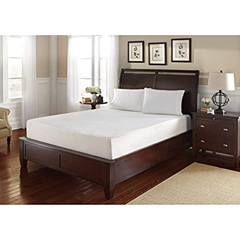 WHITE by Sarah Peyton Home Collection WHITE by Sarah Peyton 10-inch Twin-size Gel Convection Cooled Memory Foam - Gel Cooled