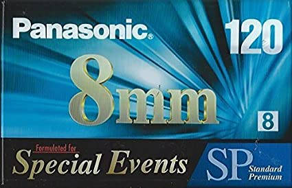 Amazon com : Panasonic 8mm 120 Special Events Standard Premium