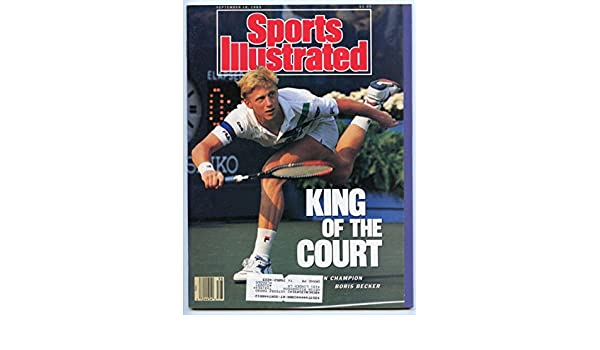 SI: Sports Illustrated September 18, 1989 Boris Becker, Tennis, VG at Amazons Sports Collectibles Store