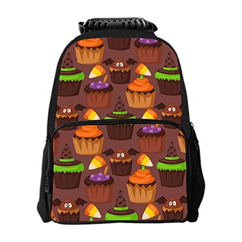 SARA NELL Halloween Cookie School Backpack 1th 2th