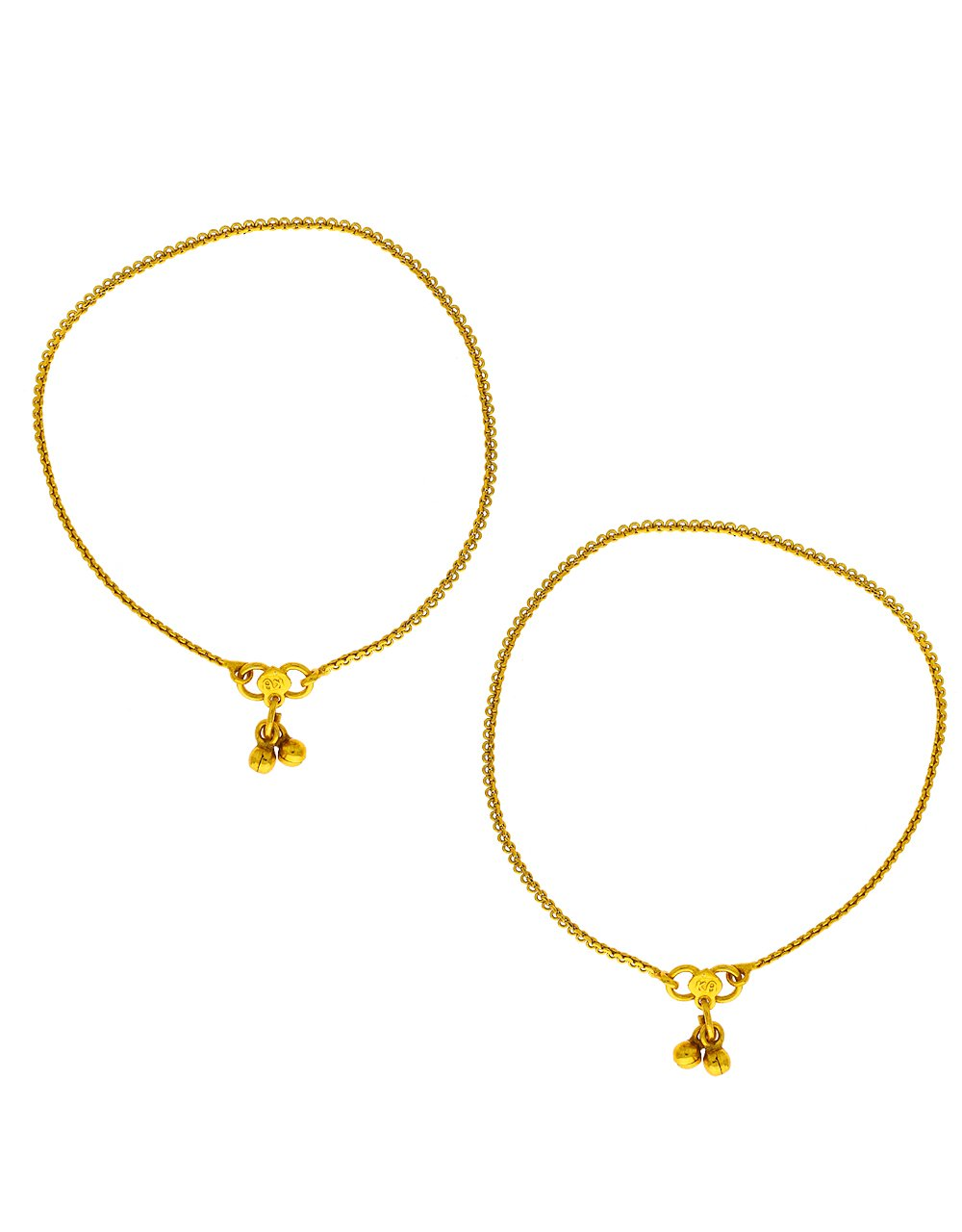 Anuradha Art Presenting Gold Finish Stylish Traditional Payal/Anklet for Women/Girls