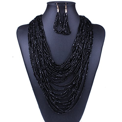 Fashion Beads Necklace Set: Amazon.com