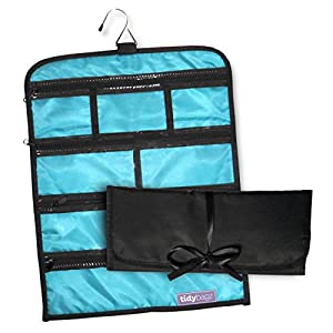 Tidybagz | Jewelry Roll Bag | Travel & Home Organizer | Safe, Elegant, Zippered Solution To Jewelry Organization | Large…