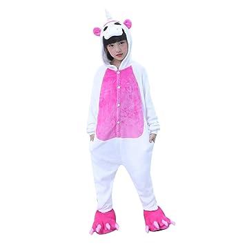 WhiFan Pijamas Unisexo Adulto Cosplay Traje Disfraz Adulto Unicornio Animal Pyjamas Ropa de Halloween y Navidad ulto Niños Pijamas Unisexo Traje para ...