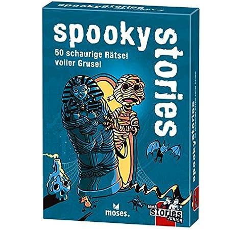 Black Stories Junior – Spooky Stories: 50 conquistadores llenos de Horror.: Harder, Corinna: Amazon.es: Juguetes y juegos
