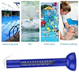 GOTOTOP Floating Thermometer for Outdoor/Indoor Swimming Pools Spa Pond Bath Thermometer Hot Tub with String