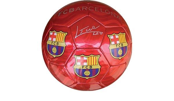 Balon FC Barcelona Rojo Grande: Amazon.es: Juguetes y juegos
