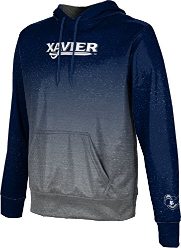ProSphere Xavier University Boys' Hoodie Sweatshirt - Gradient - Fabric Fleece University Xavier