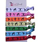 Gymnastics Hair Ties- Girls Gymnastics Hair Accessories- Gymnastics Elastics - Perfect Gift For Gymnast