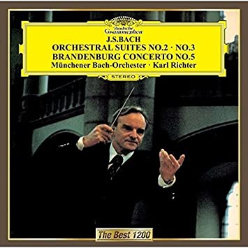 バッハ:管弦楽組曲第2番&第3番、ブランデンブルク協奏曲第5番