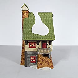 """Dept 56 North Pole Collection """"North Pole Elf Bunkhouse""""-1990 #5601-4 Retired"""