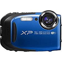 Fujifilm FinePix XP80 Waterproof Digital Camera with 2.7-Inch LCD (Blue) Basic Facts Review Image