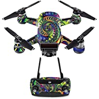 Skin for DJI Spark Mini Drone Combo - Acid| MightySkins Protective, Durable, and Unique Vinyl Decal wrap cover | Easy To Apply, Remove, and Change Styles | Made in the USA