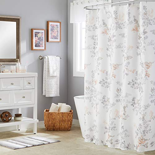 SKL Home Greenhouse Leaves Shower Curtain, Multi