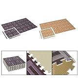 Generic DYHP-A10-CODE-4546-CLASS-8-- Gym Mats Tiles Work Gym Wood Grain Interlocking or Puzz EVA Foam locki Floor Puzzle rain In --NV_1008004546-CXL-US10