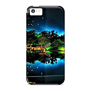 Fashion Protective Nightneon Case Cover For Iphone 5c