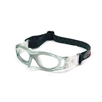 b2ff139ea EnzoDate Flexible niños baloncesto gafas para los niños las niñas, los niños  Deportes Fútbol gafas