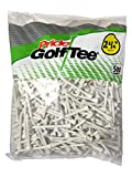 Pride Golf Tee – 2-3/4 inch Deluxe Tee – 50 Count Bag (White)