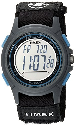 Timex Expedition Baseline Digital Chrono Alarm Timer 41mm Watch ()