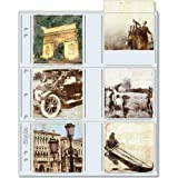 Print File 33-12P Archival Storage Page for 12 3.5'' x 3.5'' Prints, 100-Pack