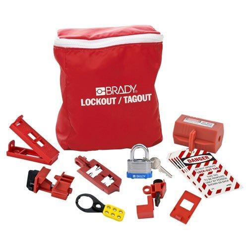 Brady 134031, Electrical Lockout Pouch Kit, 2 Kits